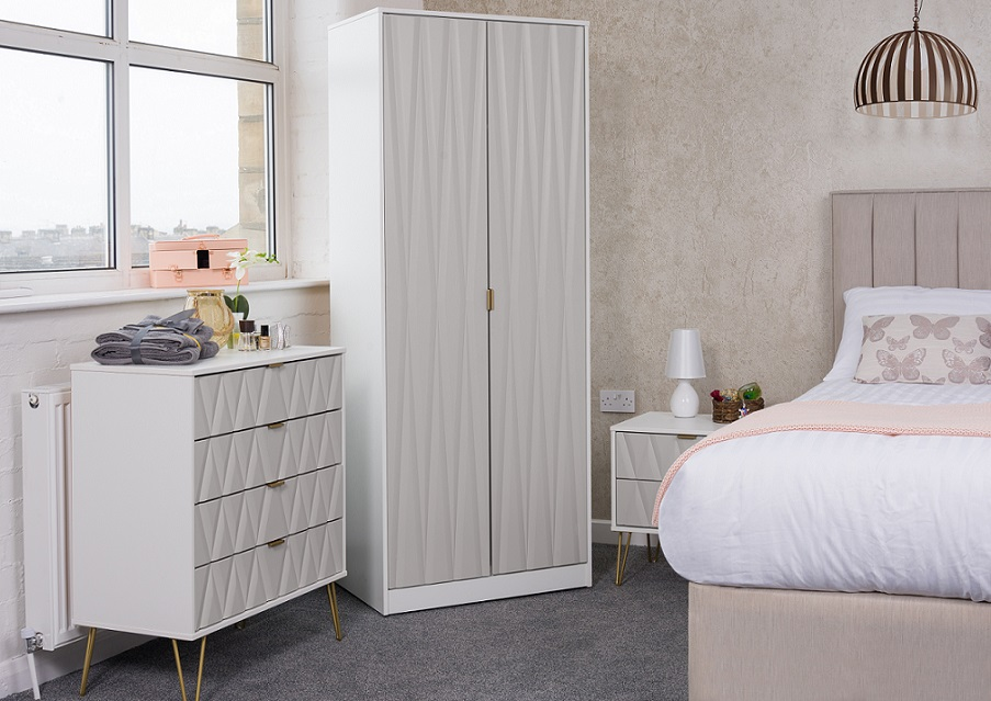 Jenson 3 Drawer Bedroom Chest Of Drawers Best Beds Direct